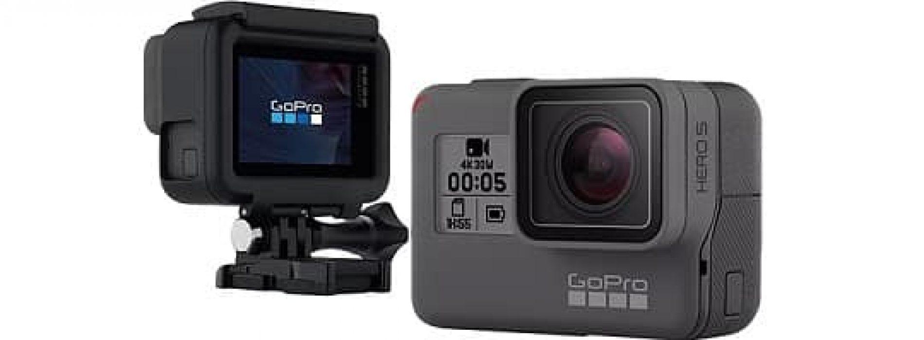GoPro Hero 5 BLACK Actionkamera – Test og kommentarer
