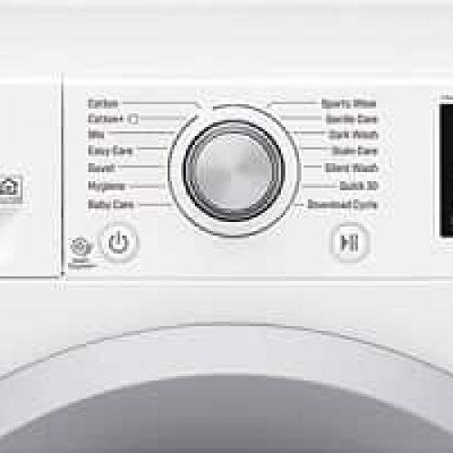 LG Q4J5TN4W – Frontmatet vaskemaskin med stor kapasitet