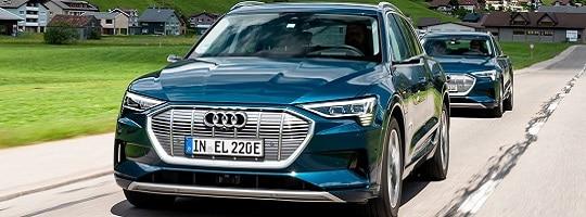 Audi e-tron 55 - Test