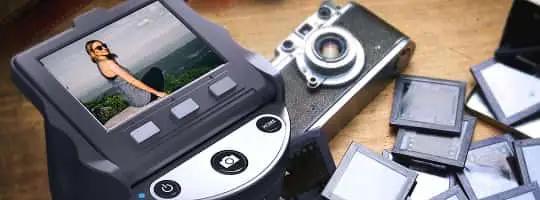 Kodak Scanza -enkel skanning av negativer og dias